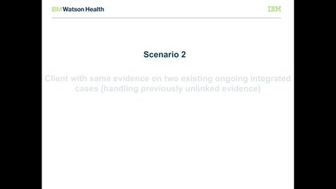 Thumbnail for entry IBM Cúram Social Program Management V7.0.2 evidence broker: Processing previously unlinked evidence