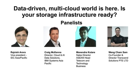 Thumbnail for entry IBM IDC Webinar