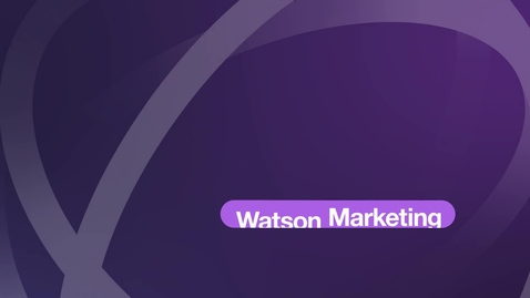 Thumbnail for entry Watson Campaign Automation – Demovideo (Vollversion)