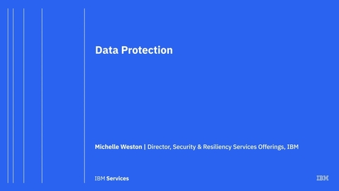 Thumbnail for entry Data Protection with IBM Backup as a Service