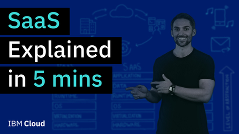 Thumbnail for entry SaaS Explained in 5 minutes