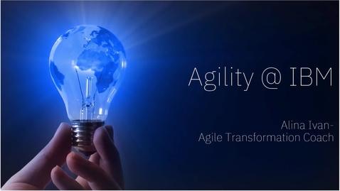 Thumbnail for entry An agile culture
