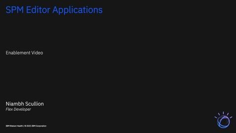 Thumbnail for entry IBM Cúram Social Program Management V7.0.11: Installing the Editor Applications asset to remove Flash dependencies