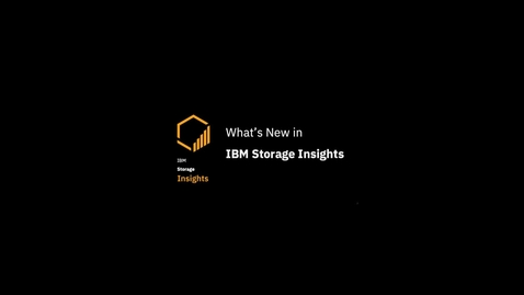Thumbnail for entry IBM Storage Insights: Whats new in September 2019