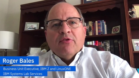 Thumbnail for entry Roger Bales shares new services for cloud, encryption and cyber resiliency from IBM Lab Services