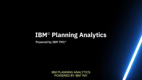 Thumbnail for entry IBM Planning Analytics BR-PT