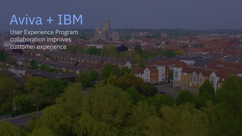 Thumbnail for entry Aviva + IBM: Rethinking the user experience of IBM OpenPages with Watson
