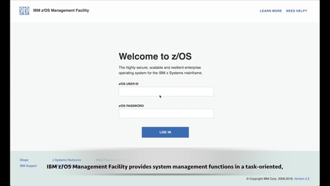 Thumbnail for entry z/OSMF Workflows Tutorial - Discover z/OS Features & Manipulate Data Set