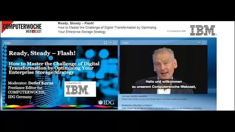 Thumbnail for entry IBM ALL FLASH & IDG Webinar