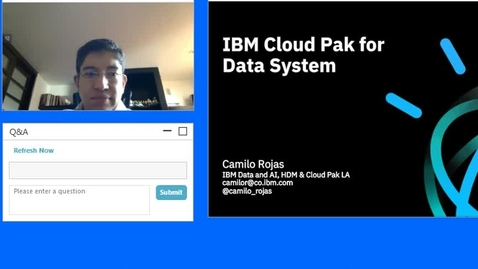 Thumbnail for entry IBM Cloud Pak for Data System
