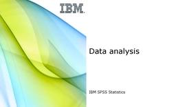 Thumbnail for entry Data analysis
