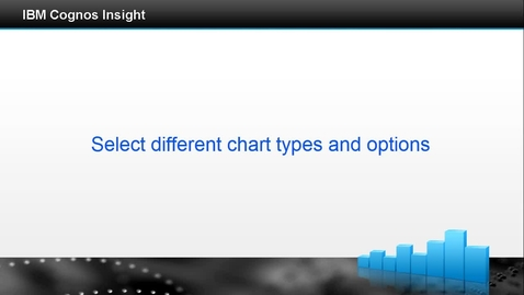 Thumbnail for entry Select different chart types and options