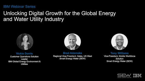 Thumbnail for entry Unlocking Digital Growth for the Global Energy and Water Utility Industry