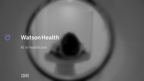 Thumbnail for entry AI in Healthcare
