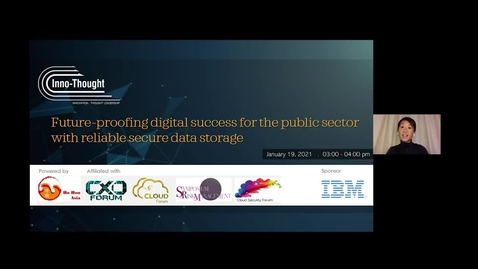 Thumbnail for entry Webinar: Future-proofing digital success for the public sector with reliable secure data storage