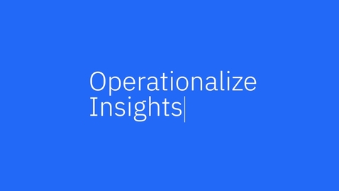 Thumbnail for entry IBM Cognos Analytics 11.2: Reporting Overview