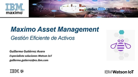 Thumbnail for entry Webinar Maximo Asset Management