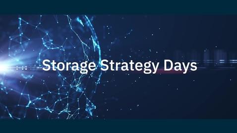Thumbnail for entry IBM Storage Strategy Days