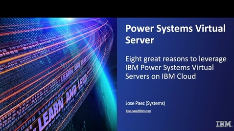 Thumbnail for entry Eight great reasons to adopt hybrid cloud with IBM Power Systems