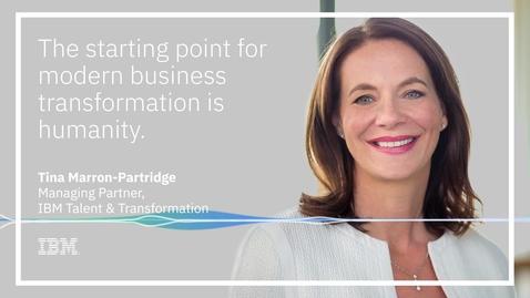 Thumbnail for entry Smarter Business Virtual Exchange: Tina Marron-Partridge