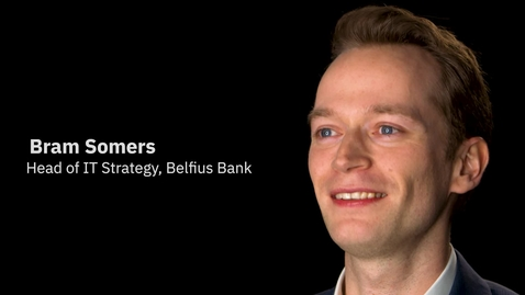 Thumbnail for entry Belfius Bank + IBM Services: Innovation at the speed of technology