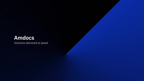 Thumbnail for entry Amdocs - Solutions delivered at speed with IBM Aspera on Cloud