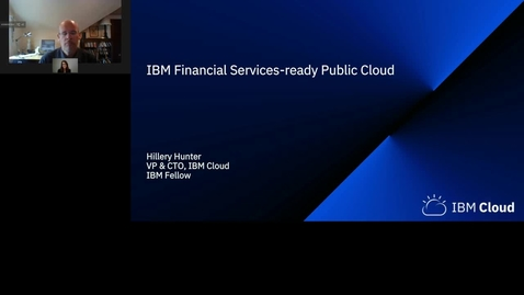 Thumbnail for entry IBM Cloud for Financial Services