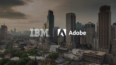 Thumbnail for entry Transformação CX Inteligente com IBM e Adobe