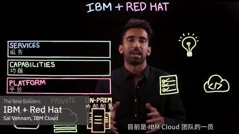 Thumbnail for entry IBM - Red Hat 简介