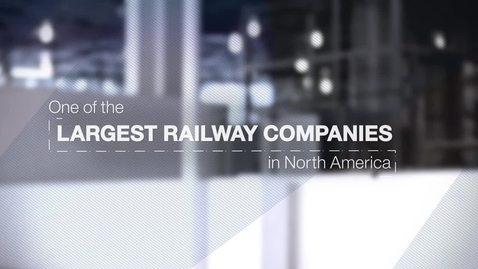 Thumbnail for entry Canadian National Railway Company leverages the power of predictive analytics to run trains on time