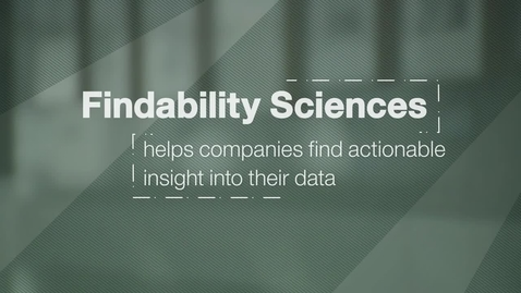 Thumbnail for entry Findability Sciences provides customers with actionable insights