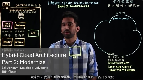 Thumbnail for entry 混合云架构 - 第 2 部分 - 现代化