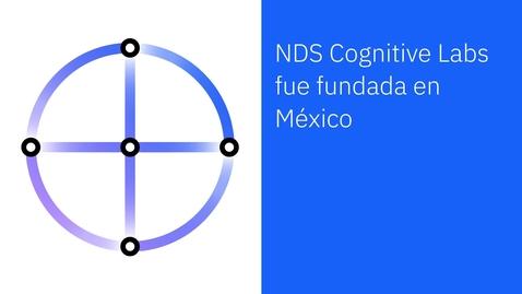 Thumbnail for entry NDS e IBM: caso de éxito de soluciones de chatbot omnicanal