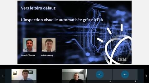 Thumbnail for entry Vers le zéro defaut, l'inspection visuelle automatisée grâce à l'IA