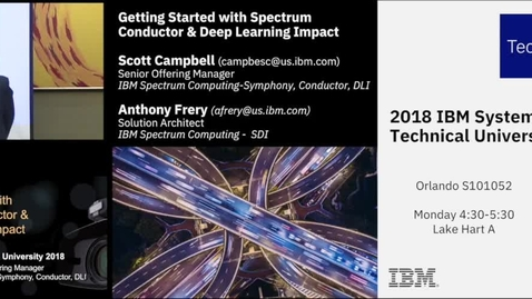 Thumbnail for entry Simplify and Accelerate Deep Learning with IBM Spectrum Conductor and Deep Learning Impact
