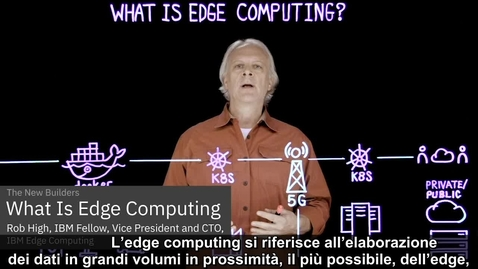 Thumbnail for entry Cos'è l'Edge Computing?