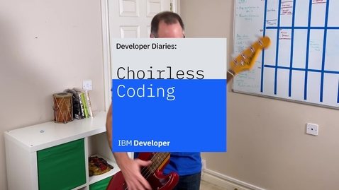 Thumbnail for entry Developer Diaries - Uniting musicians with AI and IBM Cloud Functions