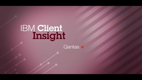 Thumbnail for entry Qantas Airways uses DevOps to test continuously and gain a competitive edge