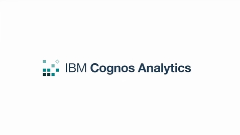 Thumbnail for entry Formatting a dashboard in Cognos Analytics