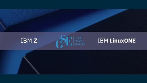 Thumbnail for entry Zeit für Z - z/OS Kundentage mit GSE