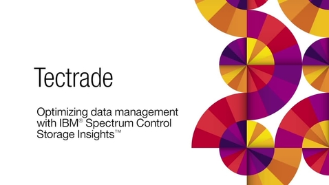 Thumbnail for entry Tectrade deploys IBM cloud based storage management in 30 minutes