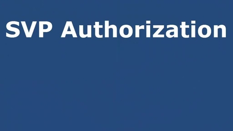 Thumbnail for entry Software Value Plus Authorization