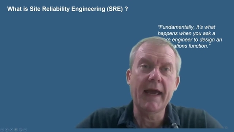 Thumbnail for entry Trailer: What is site reliability engineering?