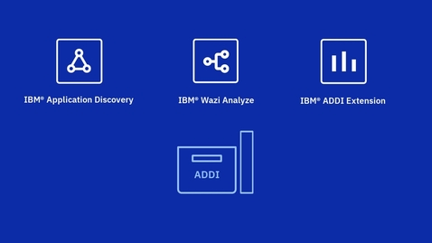 Thumbnail for entry IBM Application Discovery and Delivery Intelligence (ADDI) Overview