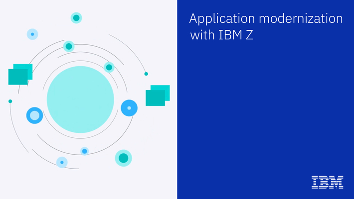 IBM Z application modernization in place