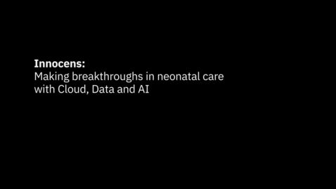 Thumbnail for entry Innocens BV uses predictive AI to protect the most vulnerable newborns.