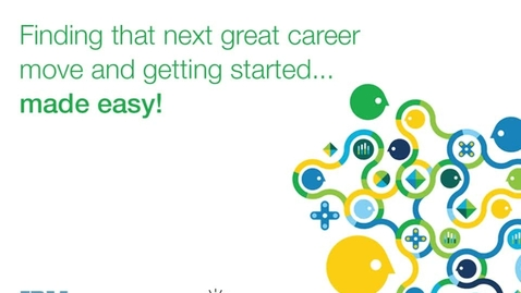 Thumbnail for entry Mobile Recruitment - from Job seeking through Onboarding - anytime, anywhere and on any device