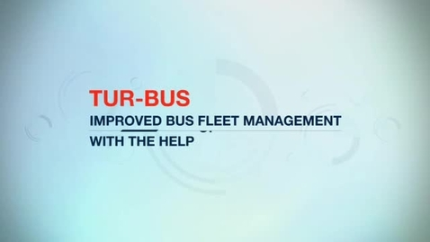 Thumbnail for entry Tur-Bus improves bus fleet management with IBM Maximo