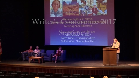 Thumbnail for entry Writer's Conference 2017 - Session 4