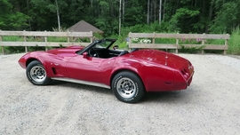 One of a Kind 1977 Corvette Convertible